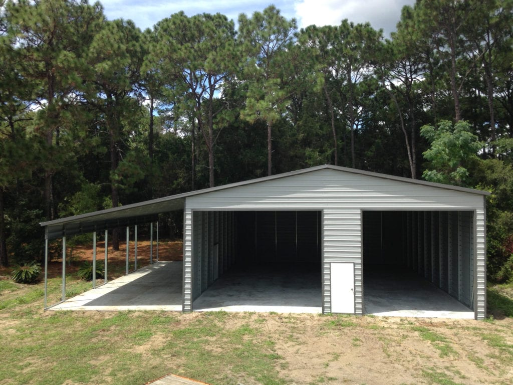 Carports And Garages Of Lake Wales Steel Buildings Central Florida Steel