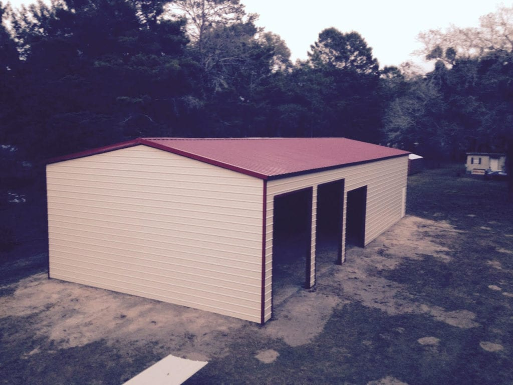 Live Oak steel buildings