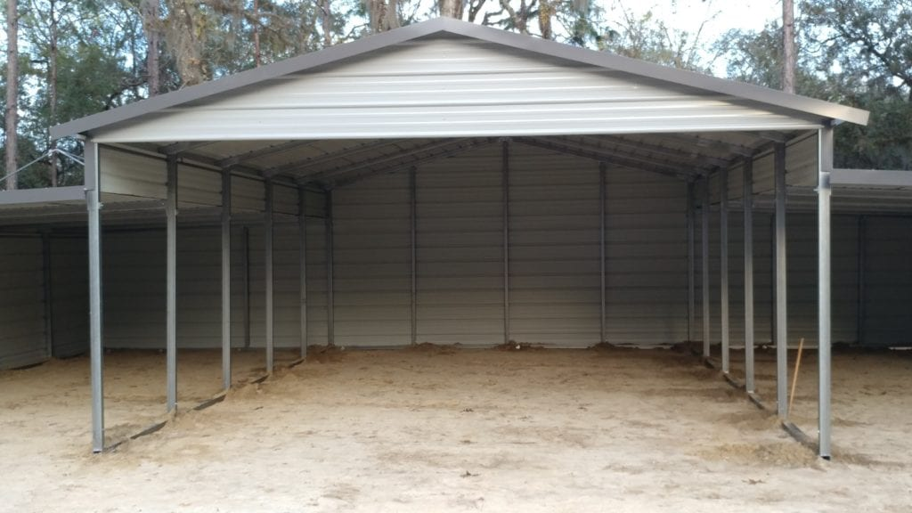 Carport With Wings picture 2