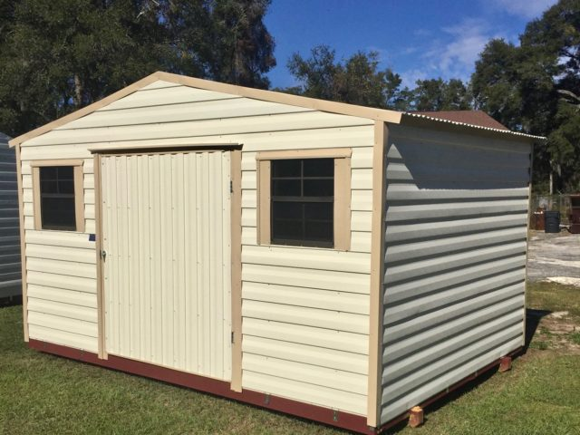 8x10 Metal Shed >> Sheds - Central Florida Steel Buildings and Supply