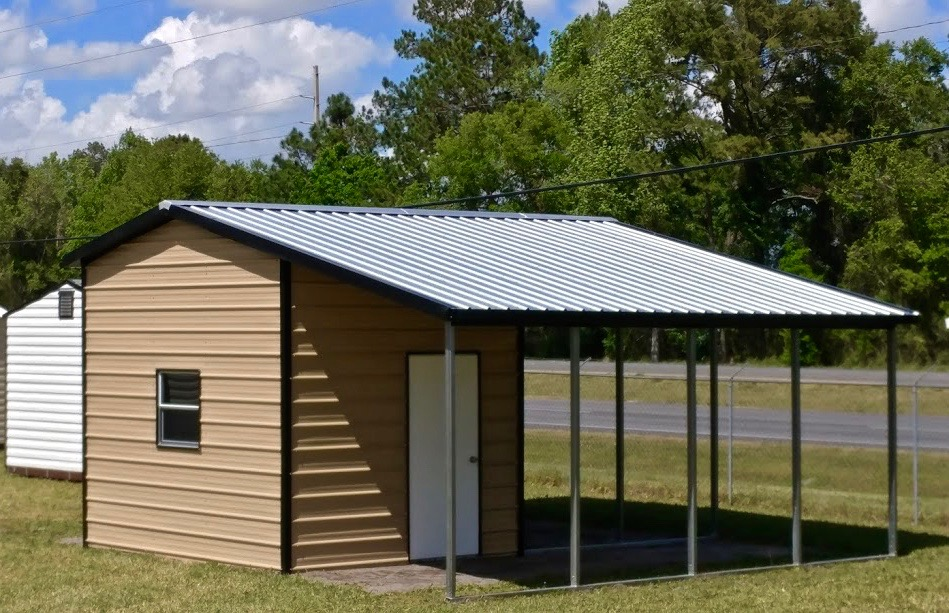 12x20 Custom Steel Building Central Florida Steel