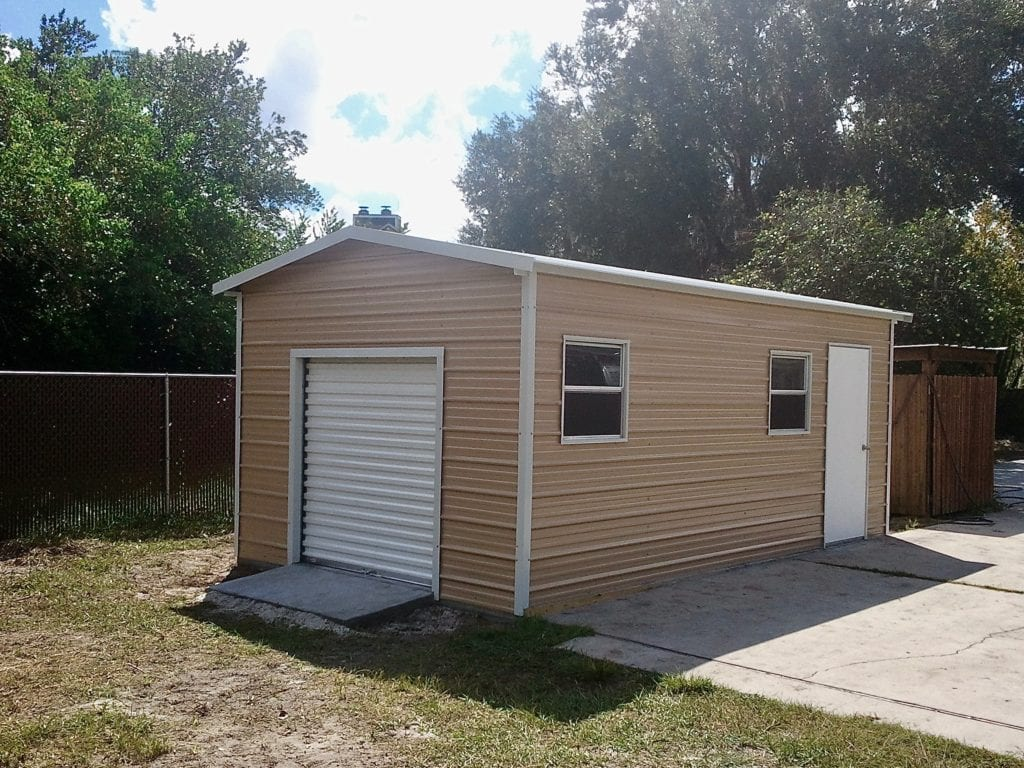 12x20 Garage Central Florida Steel Buildings And Supply