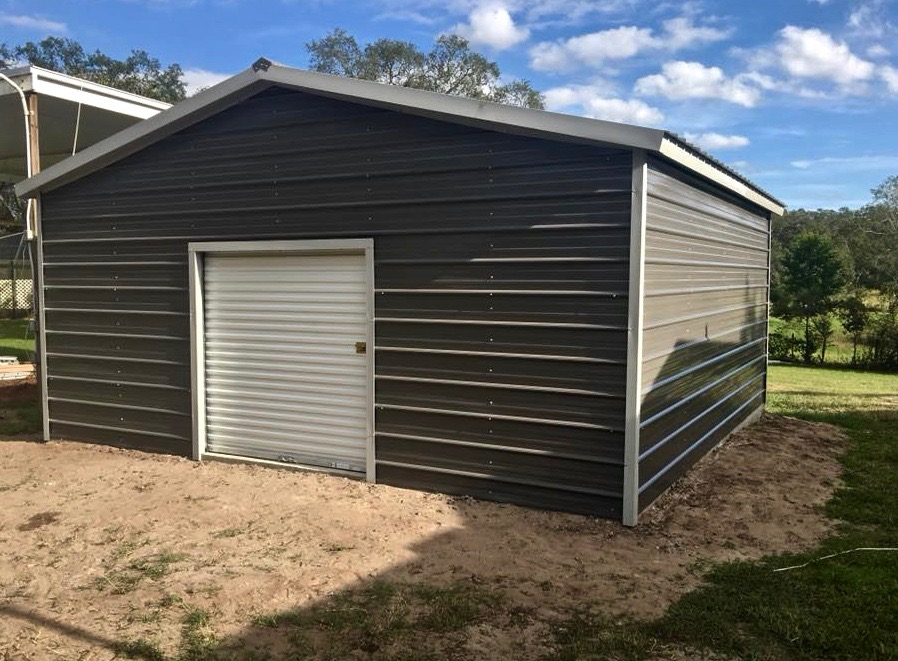 20x20 Garage Central Florida Steel Buildings And Supply