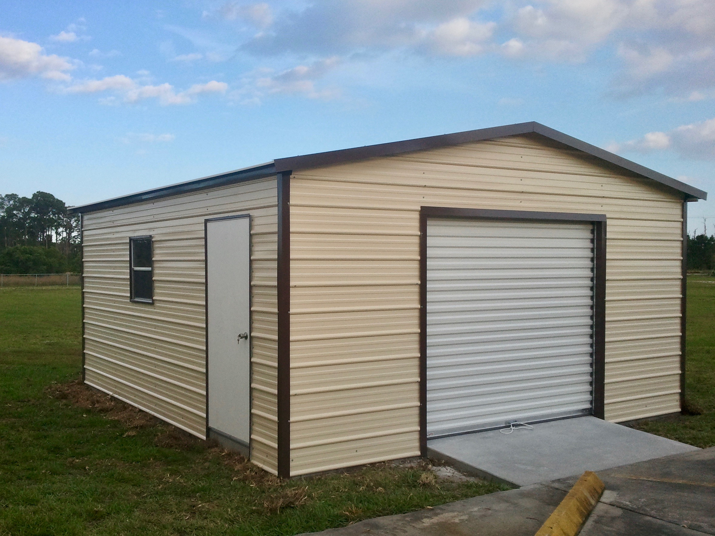18x20 Garage Central Florida Steel Buildings And Supply