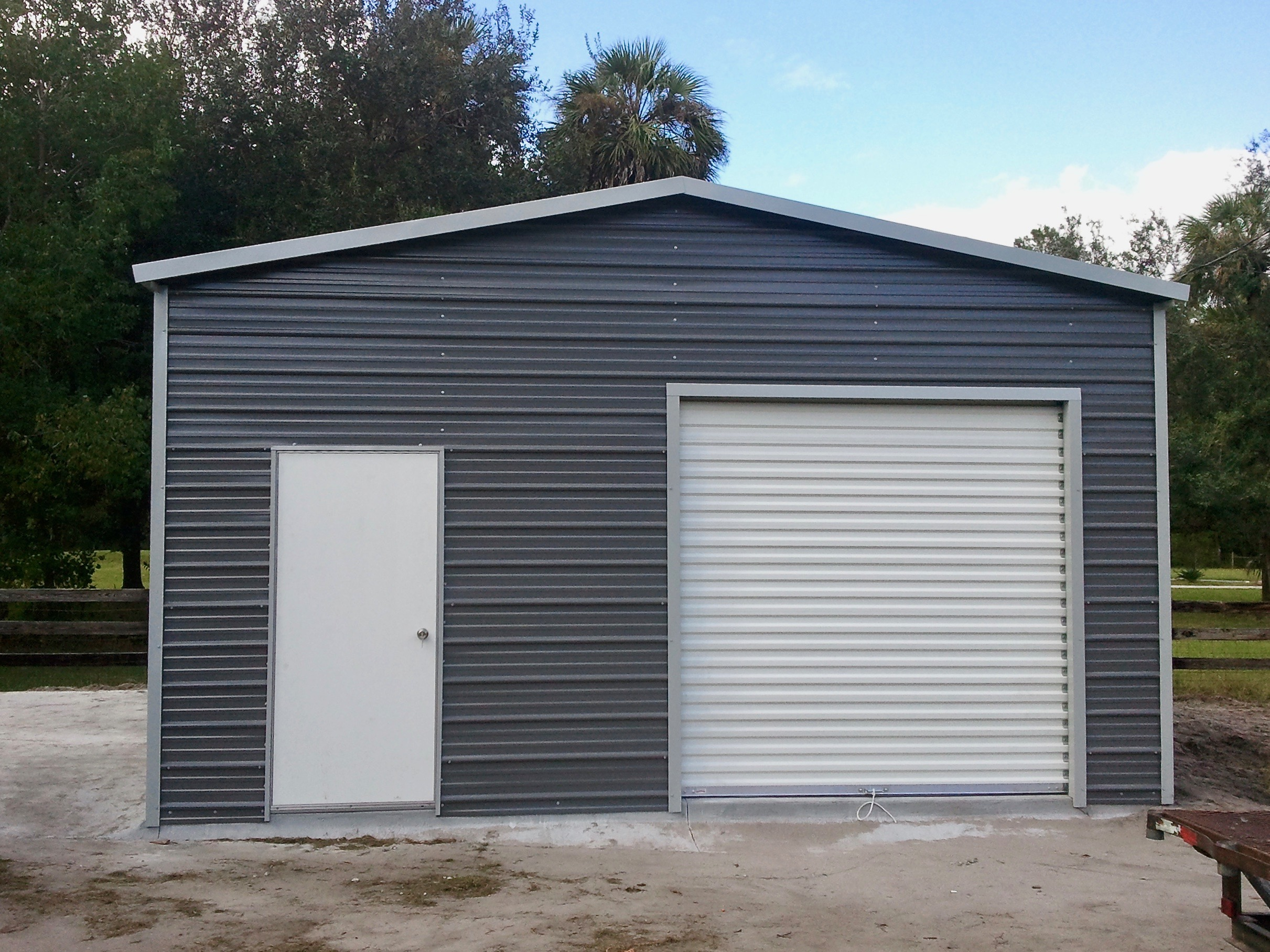 20x30 Garage Central Florida Steel Buildings And Supply