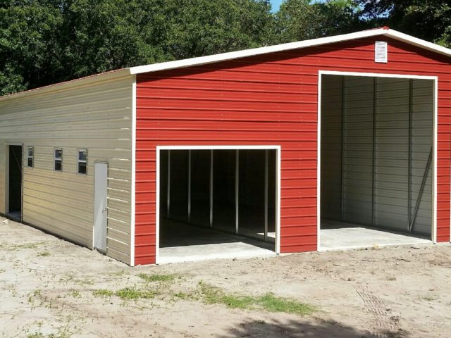 24x30 Custom Steel Building