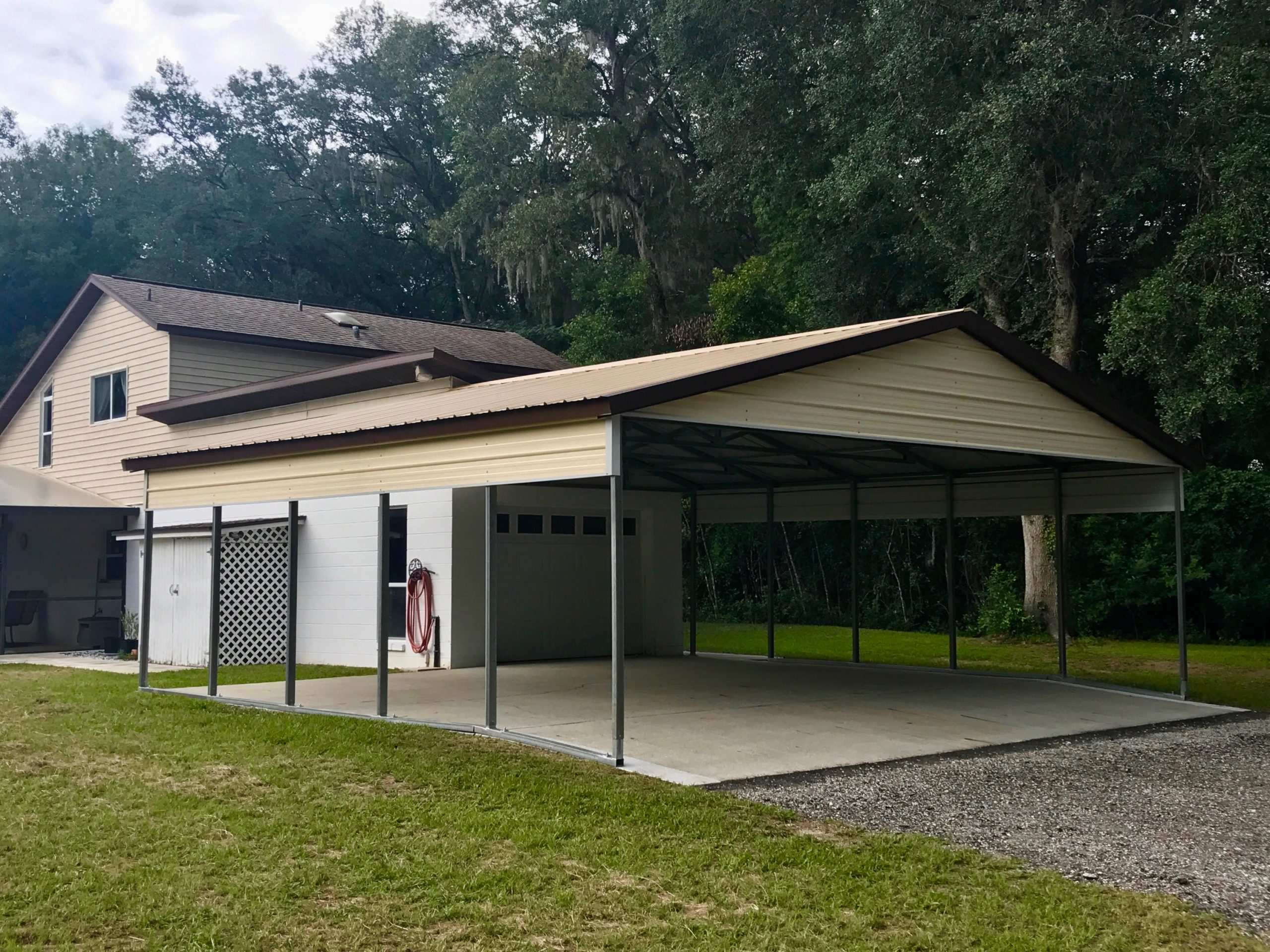 24x30 carport central florida steel buildings and supply