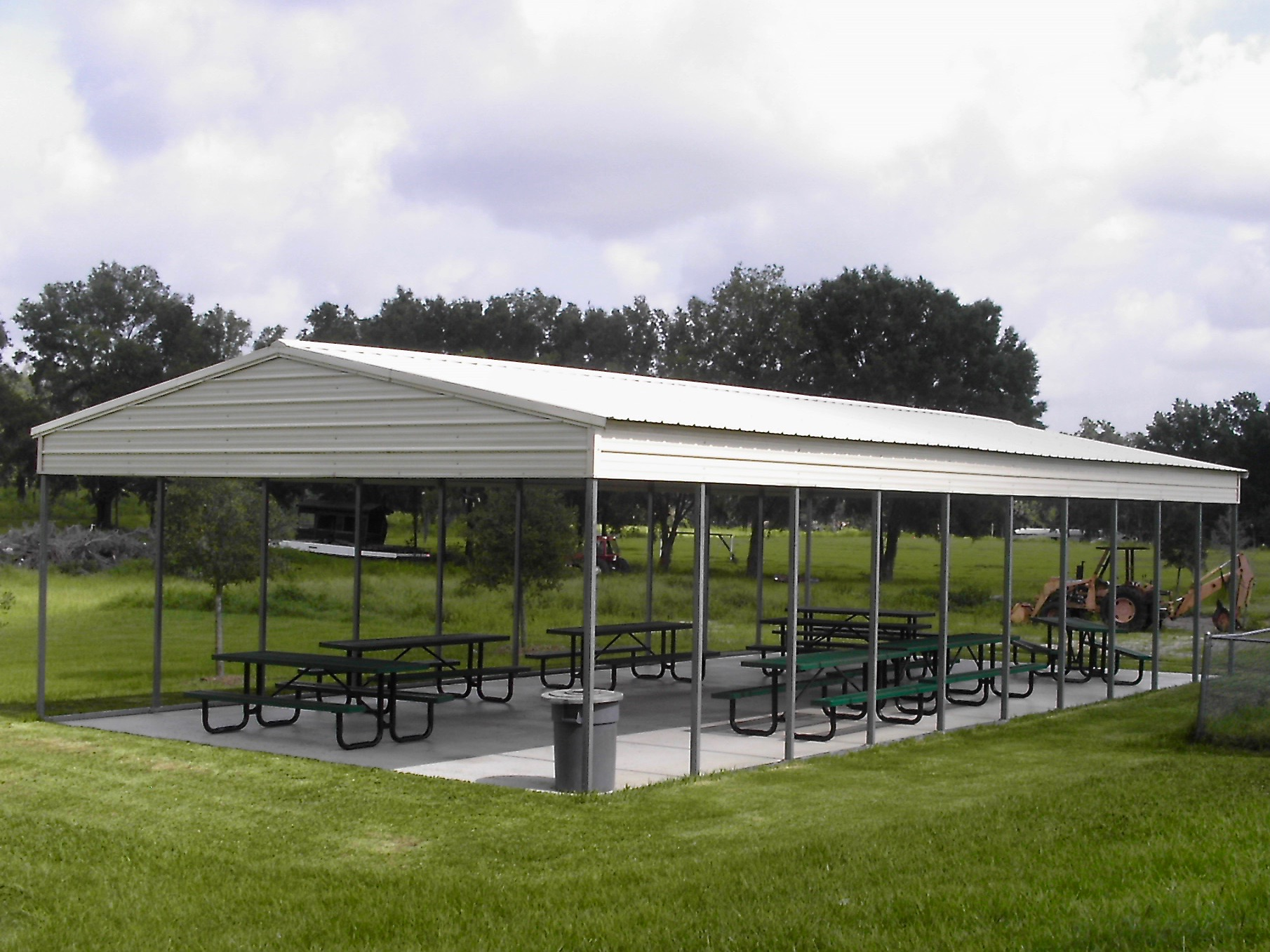 24x50 Garage Metal : Pavilion central florida steel buildings and supply