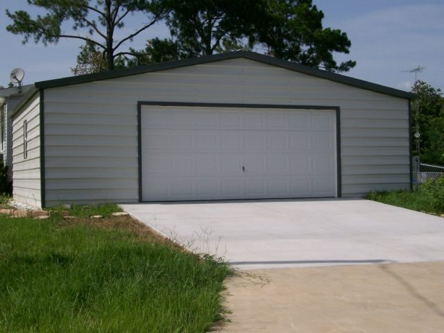 30x20 custom lap siding garage