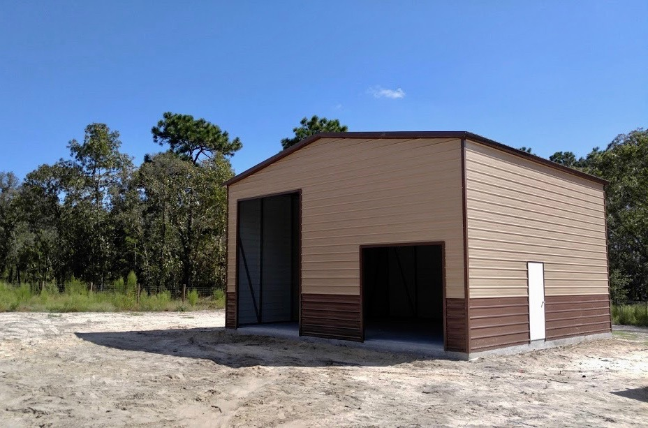 30x30 Steel Building Central Florida Steel Buildings And