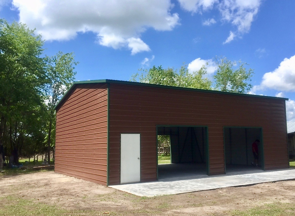 30x35 Steel Building Central Florida Steel Buildings And