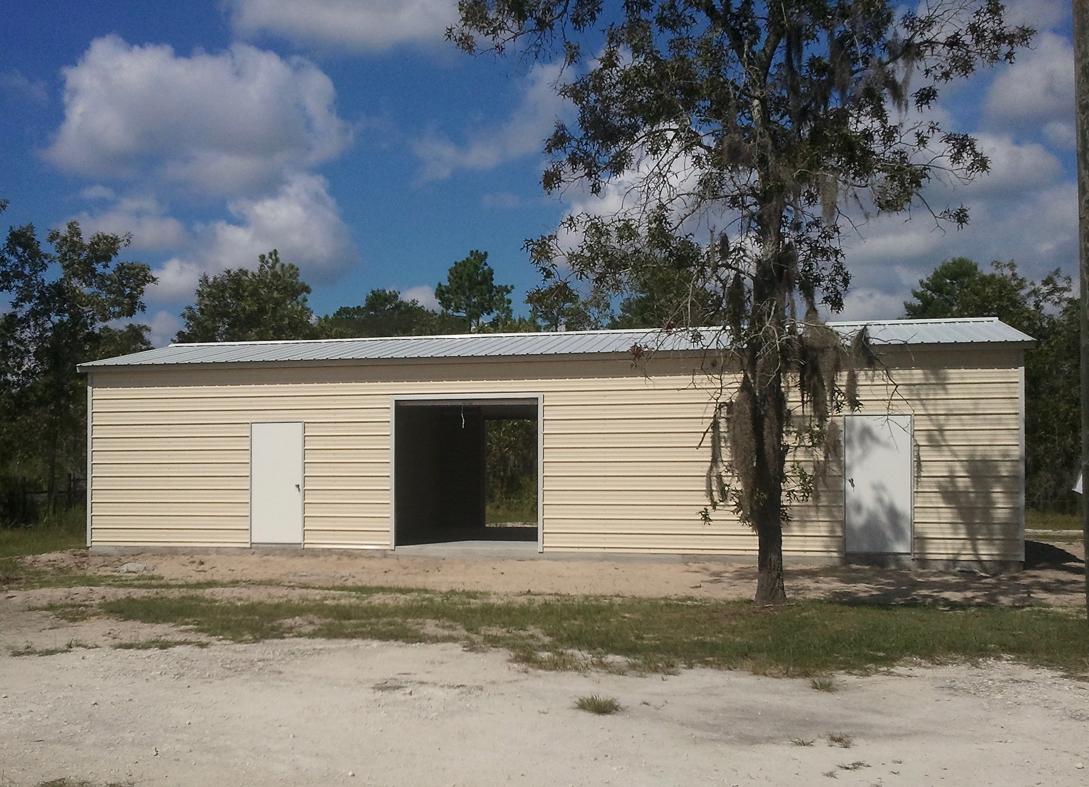 40x50 Steel Building Central Florida Steel Buildings And