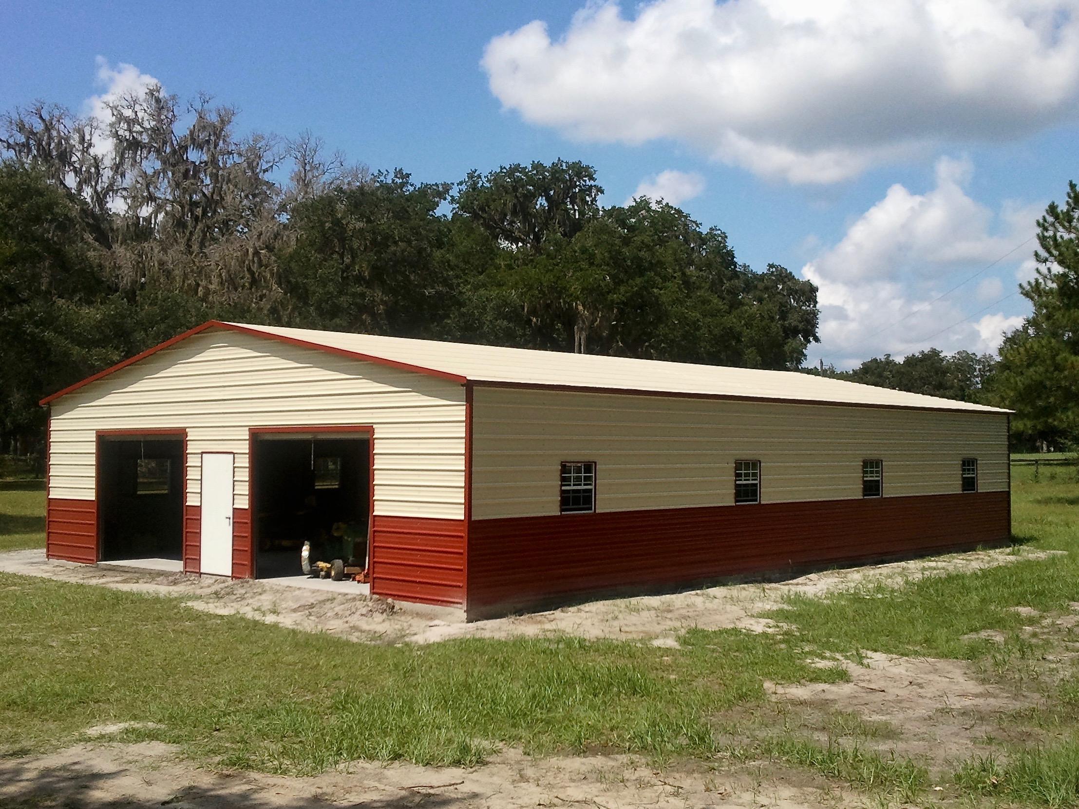 36x50 Standard Steel Building