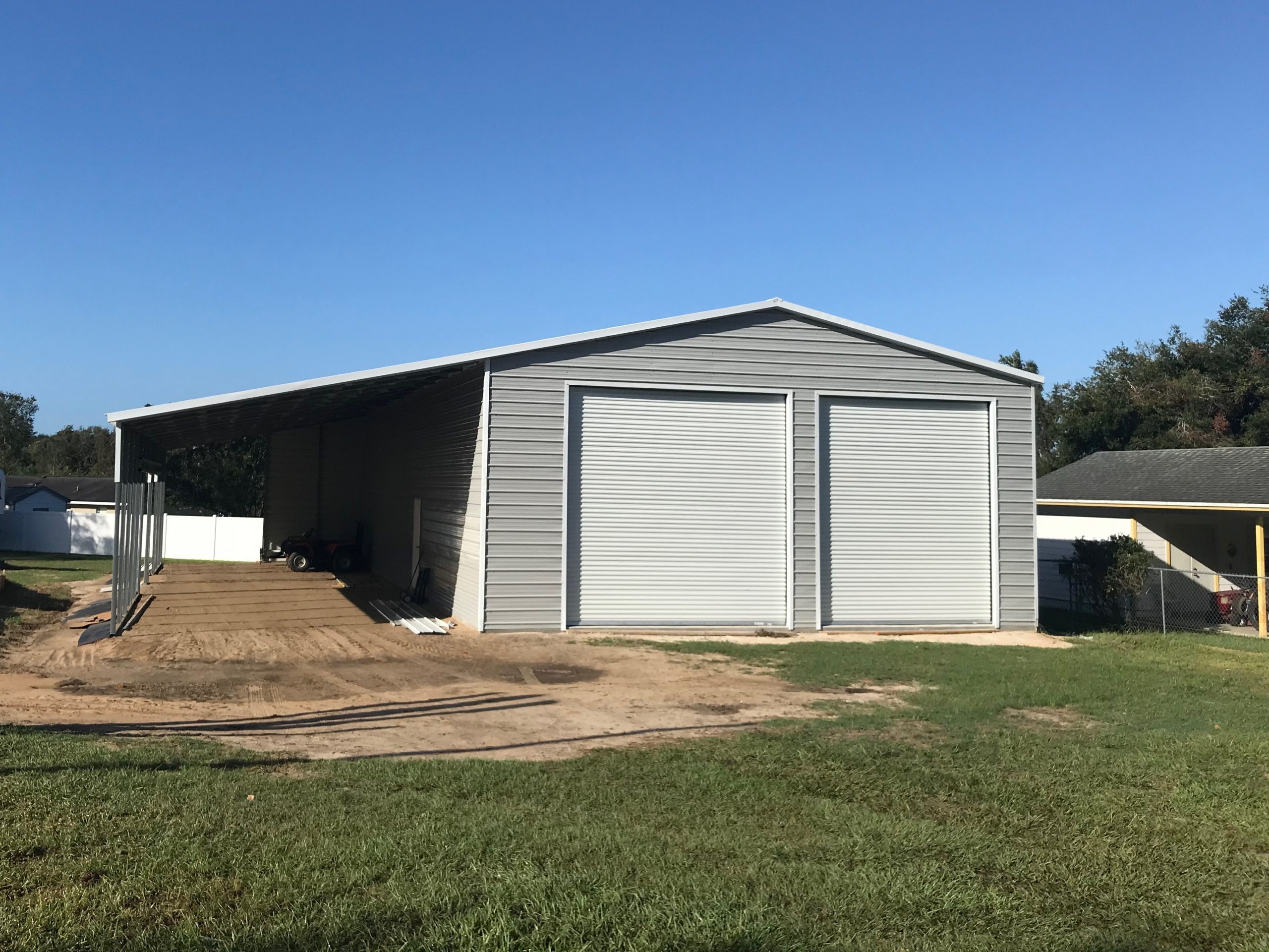 36x50 Custom Steel Building Central Florida Steel