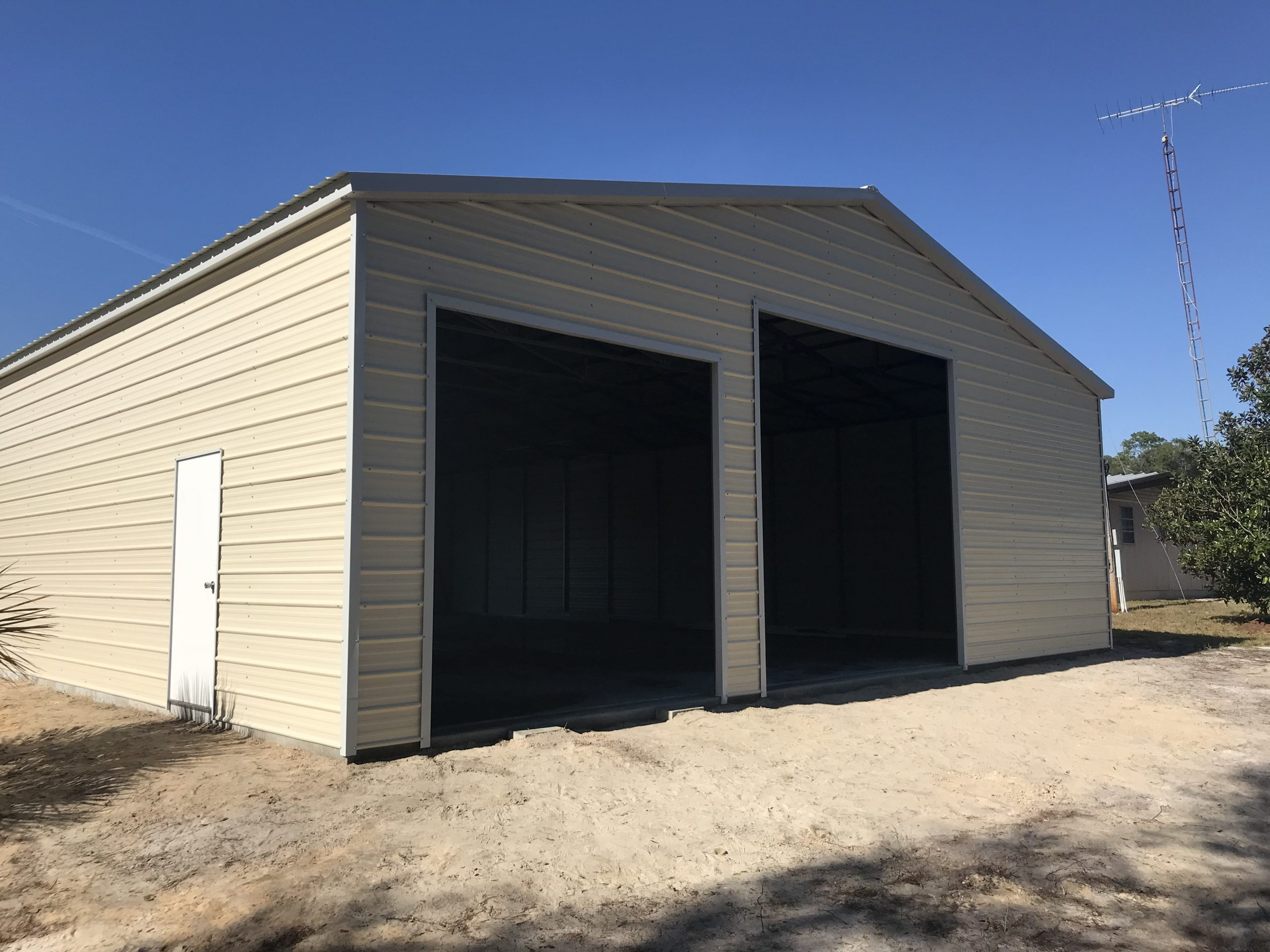 40x60 Steel Building Central Florida Steel Buildings And