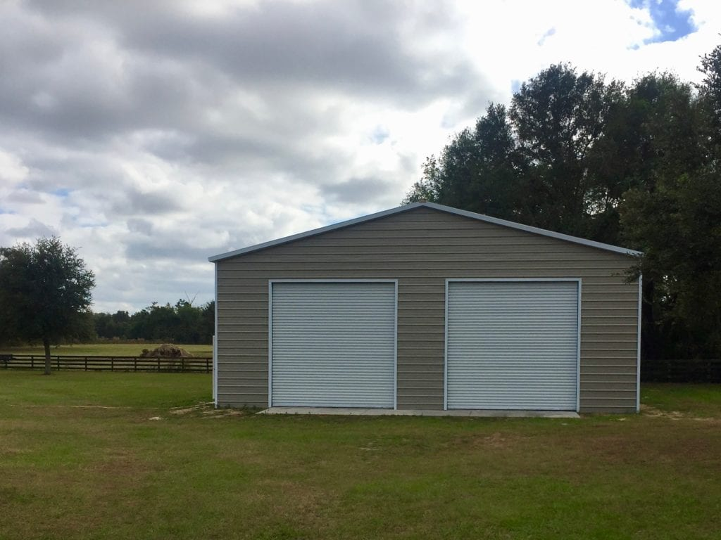 40x60 Garage Central Florida Steel Buildings And Supply