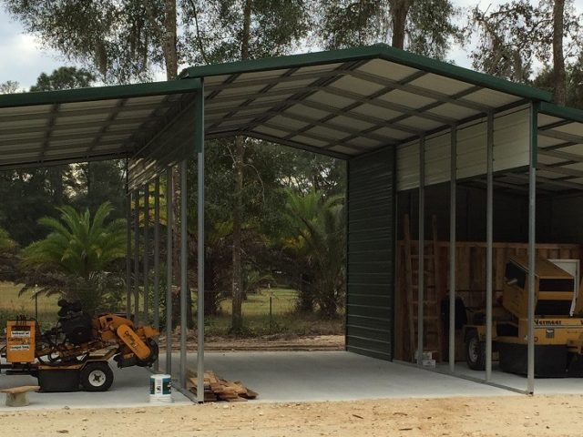42x30 3-Bay Custom Carport