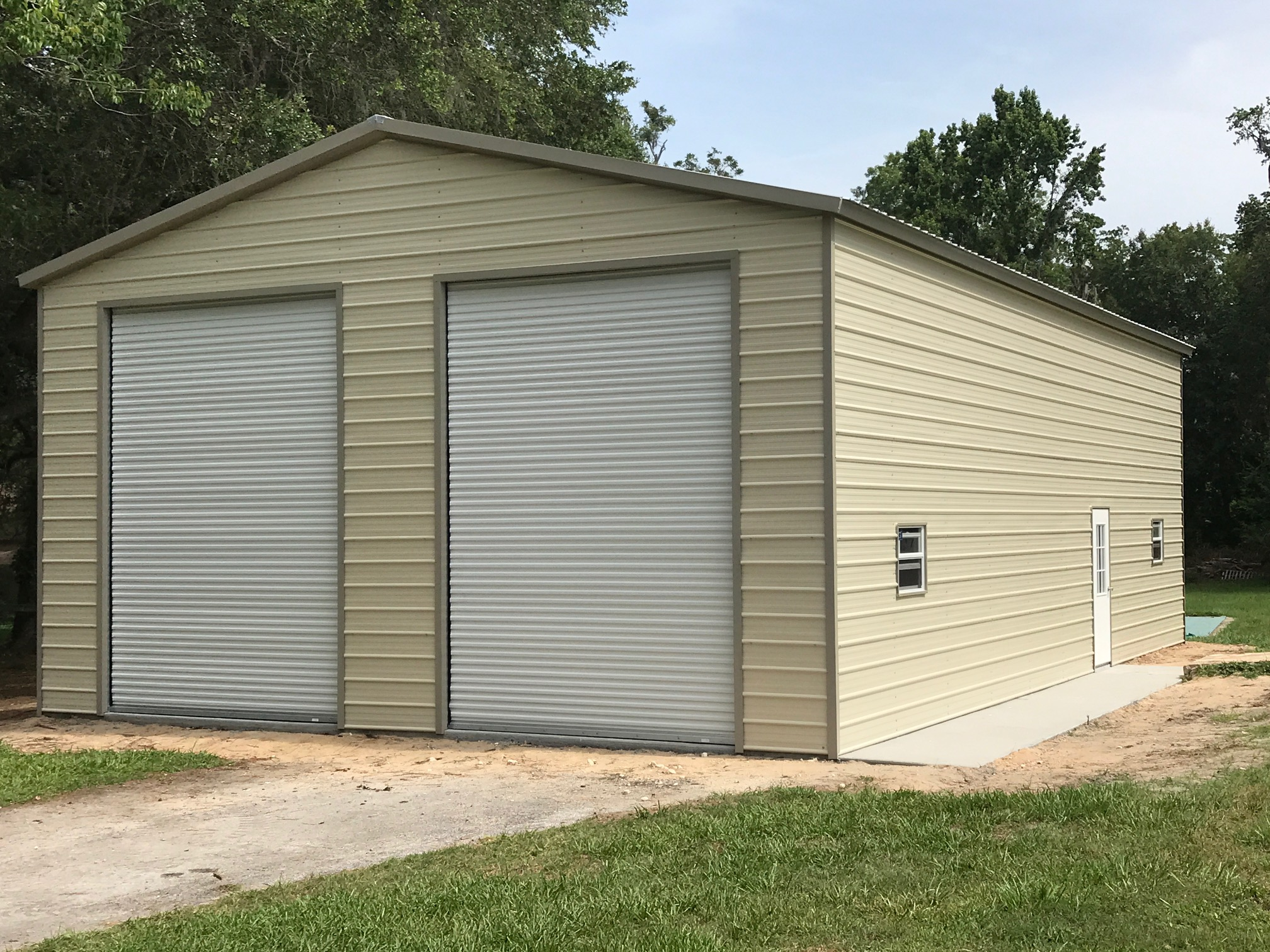 30x35 Garage Central Florida Steel Buildings And Supply