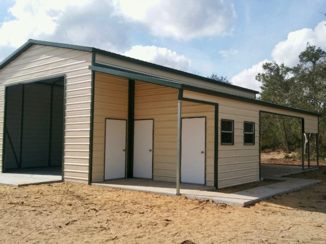 30x40 Custom Steel Building