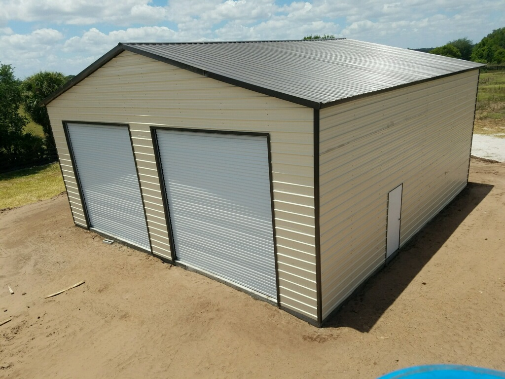 40x40 Garage Central Florida Steel Buildings And Supply