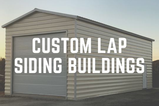 Custom Lap Siding Buildings