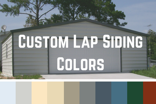 Custom Lap Siding Colors