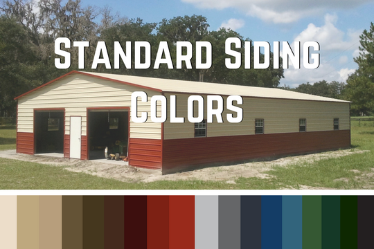 Standard Siding Colors