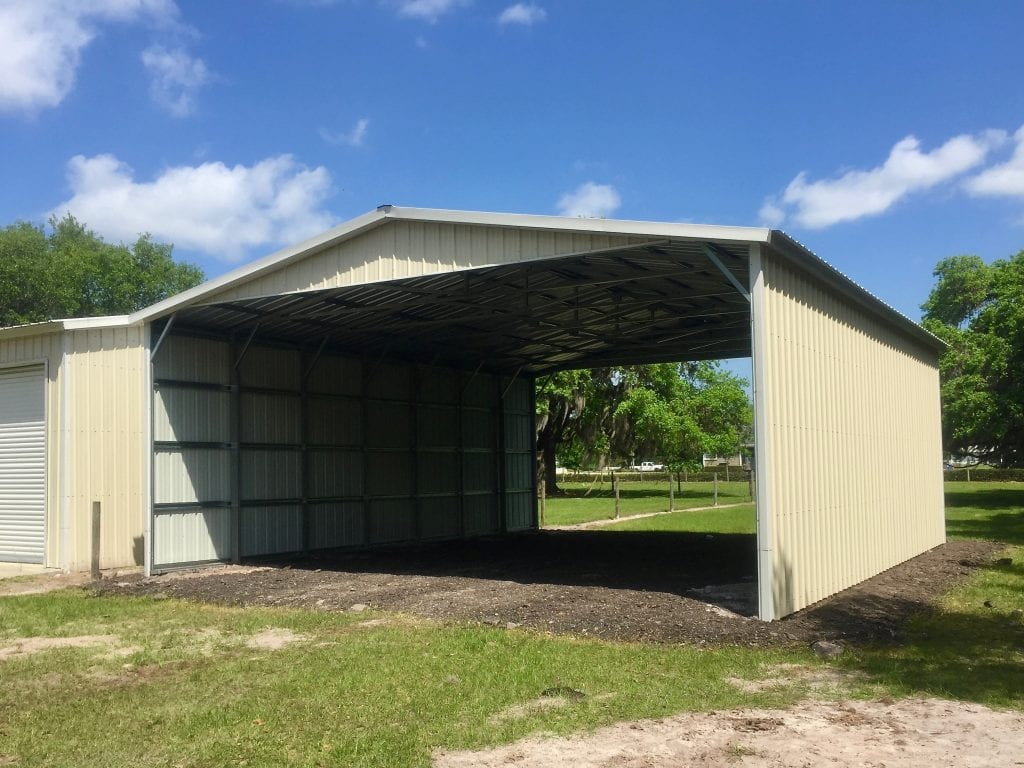 double metal carports